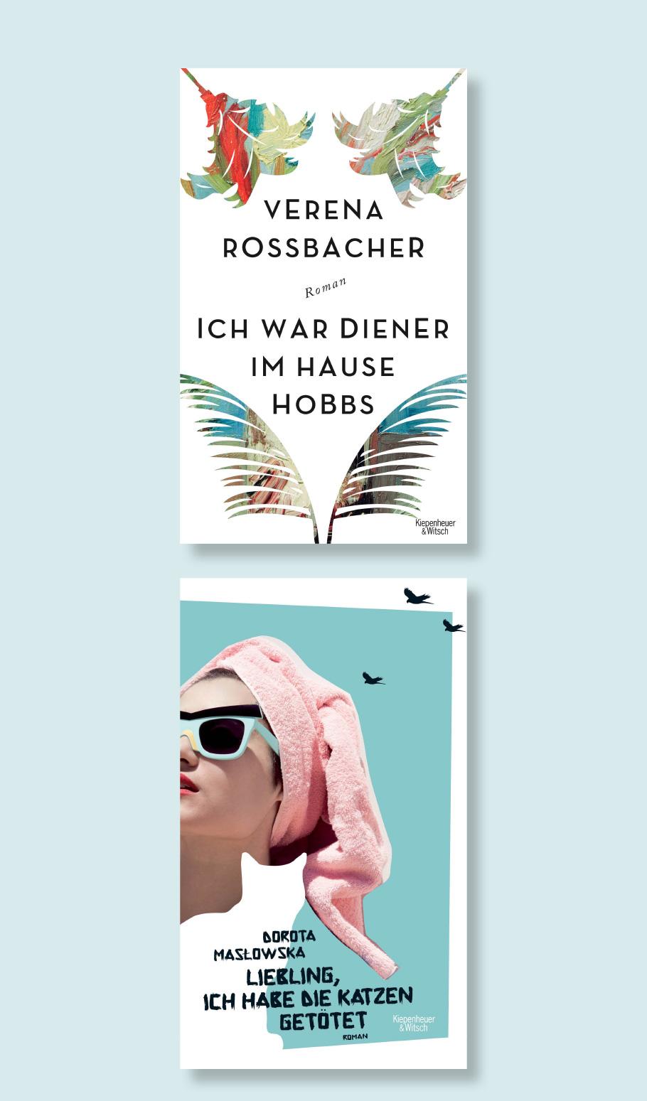 Buchcover Verlag Kiepenheuer & Witsch