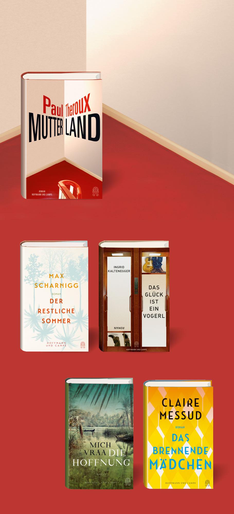 Buchcover Hoffman und Campe, Atlantik